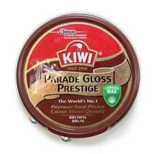 Kiwi Premium Parade Gloss Prestige Brown Shoe Polish Cream Leather Boot Care