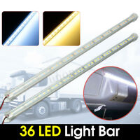 12V 50cm Car 36 LED SMD 5630 Interior Light Strip Bar Lamp Van Caravan Fish Tank