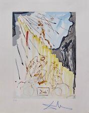 Salvador Dali 1960 DIVINE COMEDY PARADISE #19 Color Woodcut Wood Block Engraving