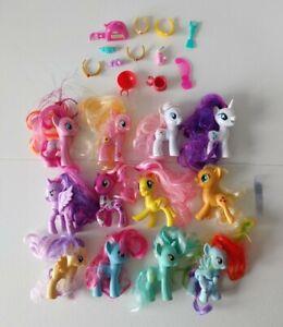 My Little Pony 12 Ponies Lot Brushable G4 Accessories Nurse