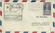 USA 1929 FIRST FLIGHT AIRMAIL FROM ST. LUIS TO OMAHA