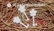 30 GESSI Gessetti profumati chiavi fiore quadrifoglio