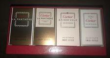 Cartier Mini Set : La Panthere, La Panthere Legere, Baiser Vole, Eau De Cartier