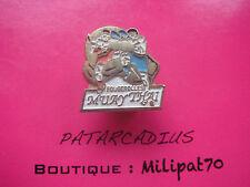 pin's Arts Martiaux . Muay Thaï FOUGEROLLES  ( Haute Saône )