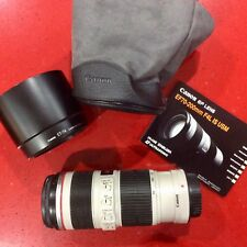 Canon EF 70-200mm f/4 L IS USM Lens  (Used, but excellent condition)