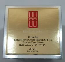 Elizabeth Arden Ceramide Lift & Firm Makeup SPF 15 1 oz IN BOX *11 Cognac*