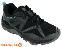 Merrell MQM Edge Stretch Gore Tex Womens Lace Trainers Lightweight Walking Shoes