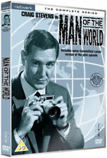 MAN OF THE WORLD the complete series. Craig Stevens. 5 discs. New sealed DVD.