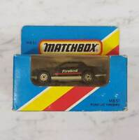 "MATCHBOX Car Vintage 1981 "" Pontiac Firebird "" MB 51  Unopened *Rare*"
