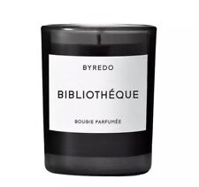 Byredo Candle Bibliotheque Fragrance 70g Mini New with Gift Presentation Box