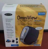 Belkin  OmniView SOHO Series (F1DS102P) 2-Ports External KVM / audio switch PS/2