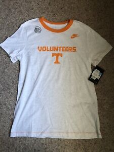 Tennessee Volunteers Nike Women's Ringer Performance T-Shirt - Tennessee White M