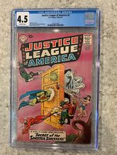 JUSTICE LEAGUE OF AMERICA #2 CGC 4.5