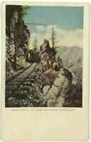 Postcard Granite Gate Mount Lowe Pacific Electric Railroad California CA 1900's