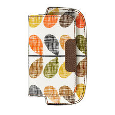 Genuine Orla Kiely Scribble Stem Universal Wallet Case for iPhone 3 3gs 4 4s 5