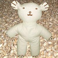Teddybär Kuscheltier mit Bio Dinkel und Lavendelblüten zur Entspannung 28x35cm