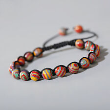 Fashion Men Women 8mm Natural Stone Gemstone Round Bead Makings Bracelets Jewelr