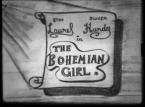 16mm FEATURE FILM: THE BOHEMIAN GIRL (1936) Laurel & Hardy