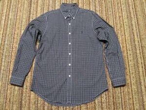 *NWOT* RALPH LAUREN POLO BLACK PLAID DRESS SHIRT men's size M