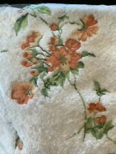 Talesma Turkish Cotton Finely Embroidered Rose Bud Bath Towel Set New in Package