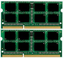 New! 8GB 2X 4GB Memory Sodimm PC3-8500 DDR3-1066MHz
