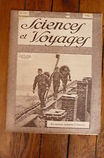 Sciences et Voyages N°497- mars1929-Copenhague,rôle de la danse pour les peuples