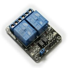 FC-16-F 2-Channel 24V Power Relay Module DIY Blue