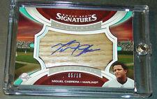 2006 Miguel Cabrera Ud Sweet Spot Signatures Bat Barrel Blue Ink Auto Ss-Mc 5/10