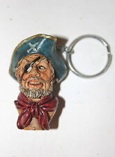 Pirate Captain Key Ring a Useful Weird Bizarre Present or Gift - YAR ME HEARTIES