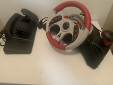 Mad Catz MC2 (6320) Racing Wheel Controller and Pedals XBOX/GAMECUBE/PS2