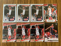 RUI HACHIMURA 2019-20 Panini Rookie LOT OF 8 Cards Washington Wizards