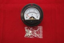 1pc AC 0-15A Round Analog Ammeter Panel AMP Current Meter Dia. 66.4mm DH52