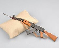"New 1/6th Toy Metal AK47 Rifles Model Bayonet Kit for 12"" Action Figure Doll"
