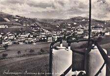 SALSOMAGGIORE: Panorama da un Pozzo di Petrolio  1954