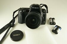 Minolta 800si with 24 mm - 85 mm f3.5-4.5 zoom lens