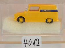 Brekina 1/87 Nr. 25902 VW Volkswagen 147 Fridolin Kasten Lufthansa OVP #4012