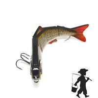 Fishing Lure Multi Jointed 4 Segment Swim-bait Lifelike Hard Bait Crank-bait Lot