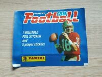 Panini 1 Tüte Baseball 1989 NFL 89 Bustina Pochette Packet Pack Sobre Football