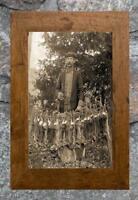"Vintage Hunting ... Rabbit Hunter ... Antique 5""x7"" Photo Print"