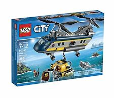 LEGO® City Deep Sea Helicopter Building Play Set 60093 NEW NIB