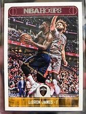2017-18 NBA Hoops LeBron James #25 Cavs Cavaliers