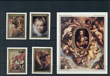Art Paintings Rubens Ivory Coast MNH stamps set