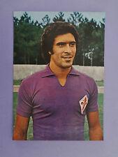 CARTOLINA POSTCARD CALCIO SOCCER FIORENTINA DELLA MARTIRA 1976-77 NO PANINI- FIO