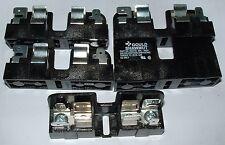 5 x 30310 Gould Ferraz Shawmut Mersen fuse block 30A 600V fits 10 x 38mm fuses