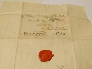 1812 Earl Nelson Bronte Famous Family Letter Entire Research Content Admiral