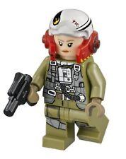 Lego® Star Wars™ Figur A-Wing-Pilot Tallissan Lintra sw884 aus 75196 mit Waffe