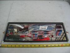 "Heavy Duty Commercial Semi Truck West Coast Mirror 6"" x 16"" Aluminum P/N 20100"
