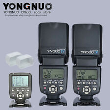 Yongnuo YN-560 IV Flash speedlite + YN560-TX Wireless Controller for Nikon