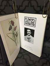 FLOWERS Charles Rennie Mackintosh 1985 HC Illustrated Book Nouveau Arts Crafts