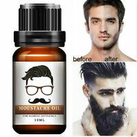 Men Beard Mustache Growth Oil Eyebrow Hair Growth Treatments Liquid Reliable